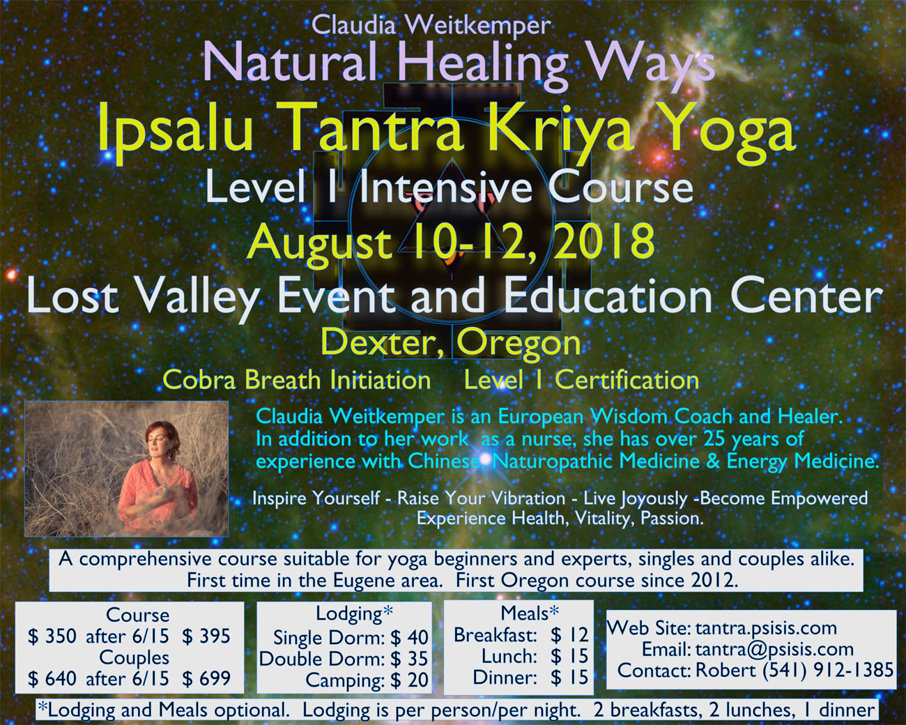 Ipsalu Tantra Kriya Yoga - Level 1 Intensive Course @ Eugene | Oregon | United States